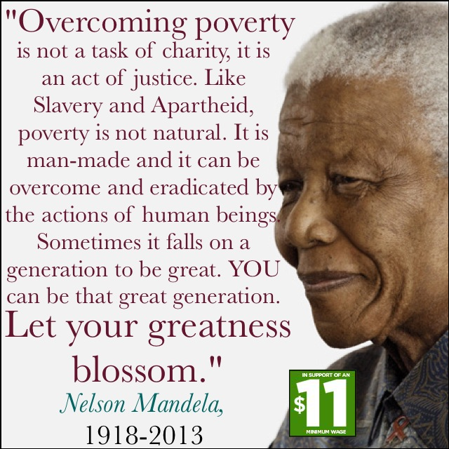 Poverty Quotes: Nelson Mandela On Poverty