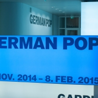 Exhibition German Pop Art, Schirn, Frankfurt, Germany