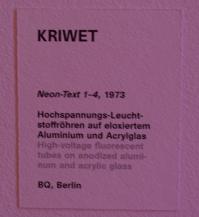 Exhibition German Pop Art, Schirn, Frankfurt, Germany